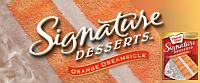 Duncan Hines Orange Dreamsicle Signature Dessert - image used without permission and does not imply endorsement of this site by Duncan Hines, etc.